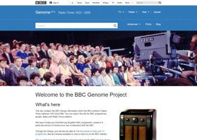 BBC Genome