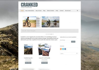Cranked - A magazine for mountainbikers