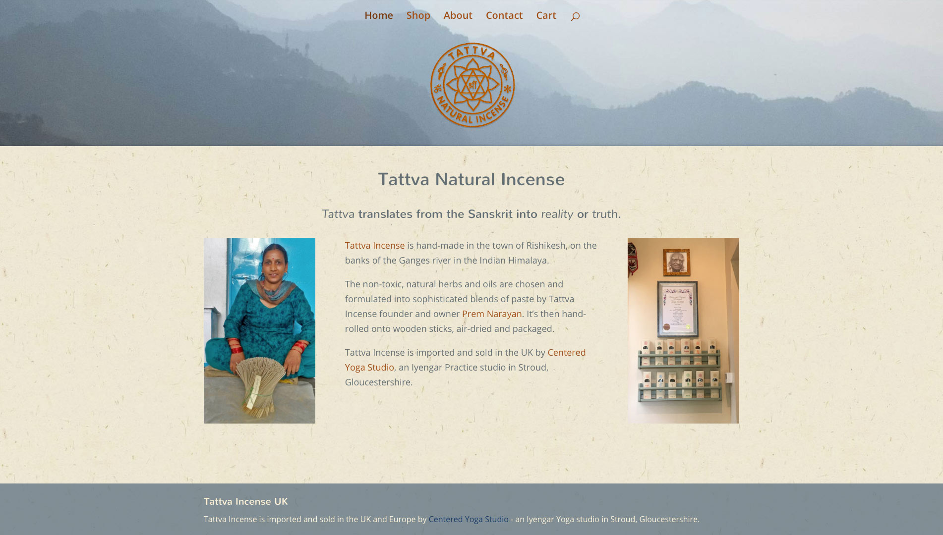Tattva Incense